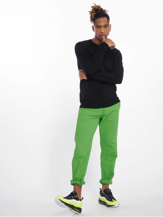 Urban Classics Chino pants Basic green