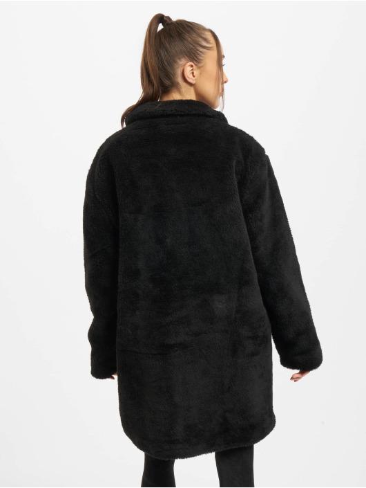 Urban Classics Coats Ladies Oversized black