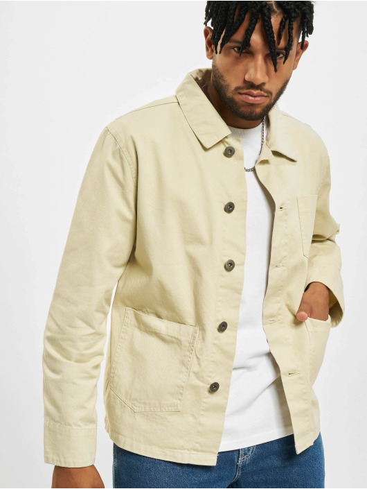 Urban Classics Denim Jacket Worker beige