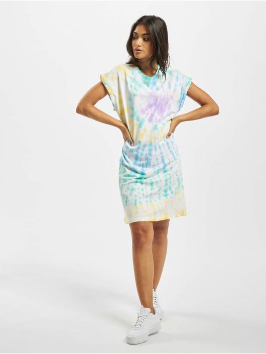 Urban Classics Dress Tie Dye colored