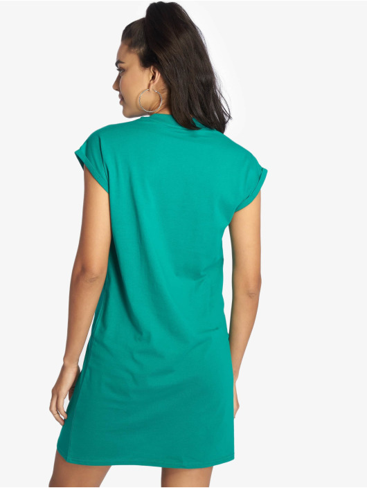 Urban Classics Dress Turtle Extended Shoulder green