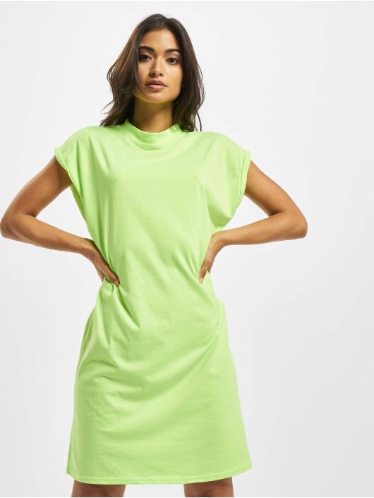 Urban Classics Dress Turtle Extended Shoulder green