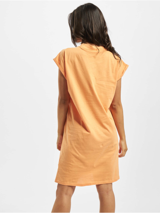 Urban Classics Dress Turtle Extended Shoulder orange