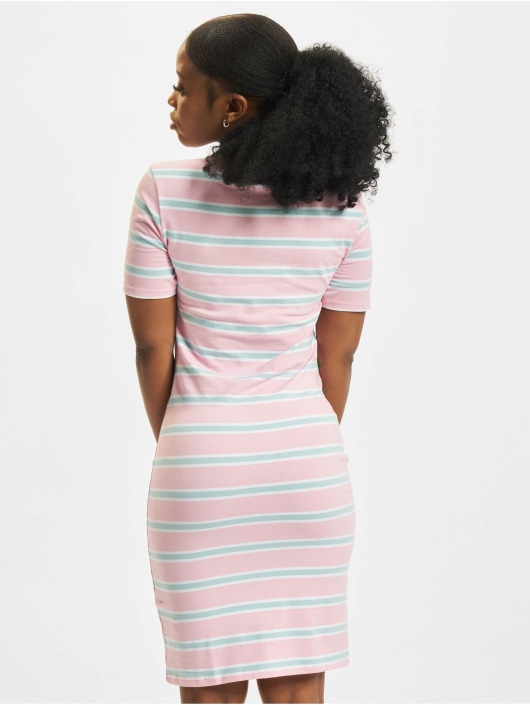 Urban Classics Dress Stretch Stripe rose