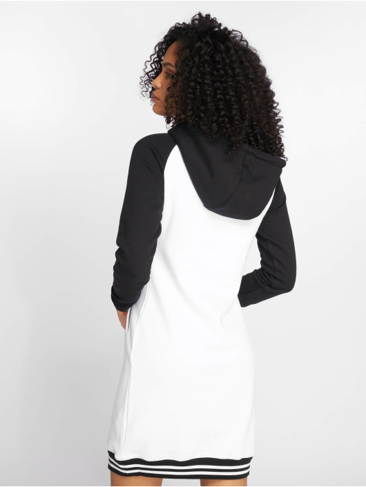 Urban Classics Dress Contrast College Hooded white