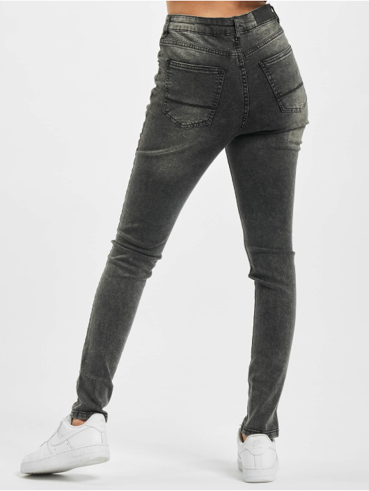 Urban Classics High Waisted Jeans Ladies High Waist black