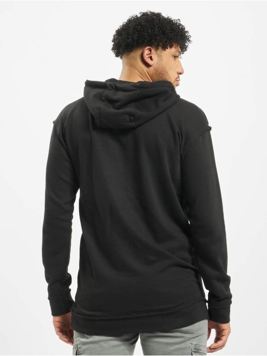 Urban Classics Hoodie Oversized Open Edge black