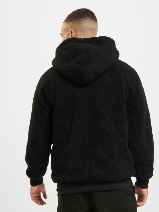 Urban Classics Hoodie Sherpa black