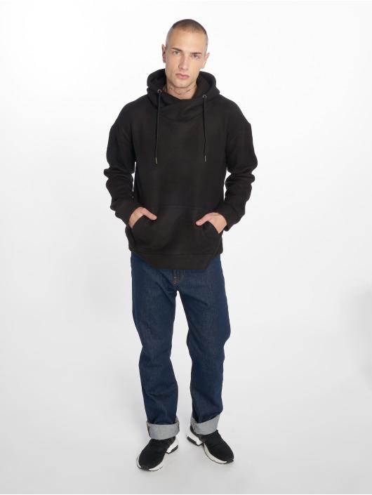 Urban Classics Hoodie Polar Fleece black