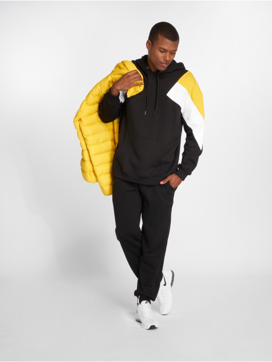 Urban Classics Hoodie Oversize 3-Tone black