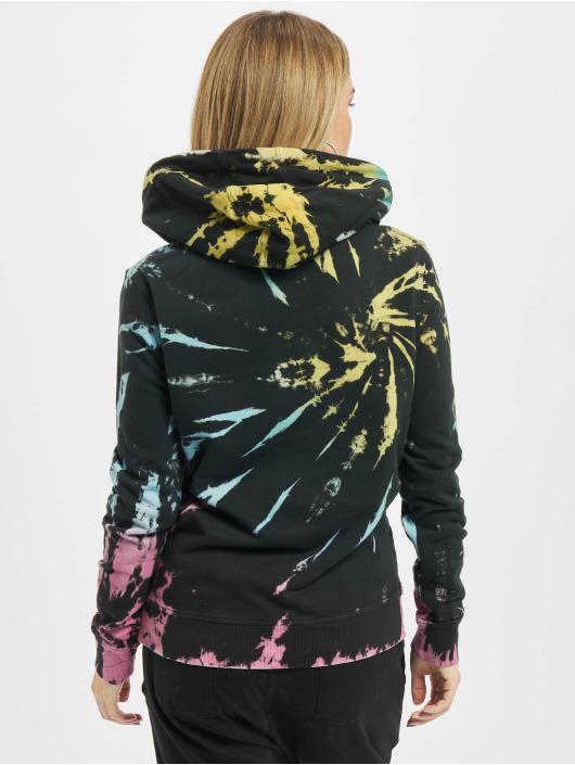Urban Classics Hoodie Tie Dye black