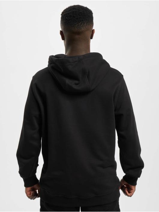 Urban Classics Hoodie Military Shoulder black