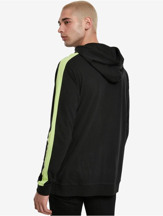 Urban Classics Hoodie Neon Striped black