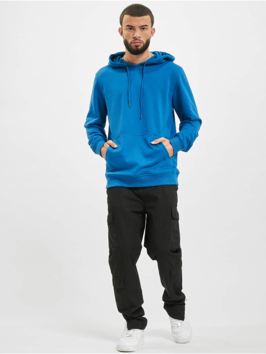 Urban Classics Hoodie Basic Terry blue