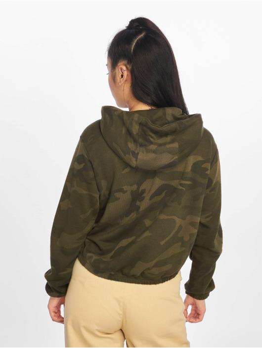 Urban Classics Hoodie Camo Cropped camouflage