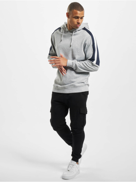 Urban Classics Hoodie Terry Panel gray