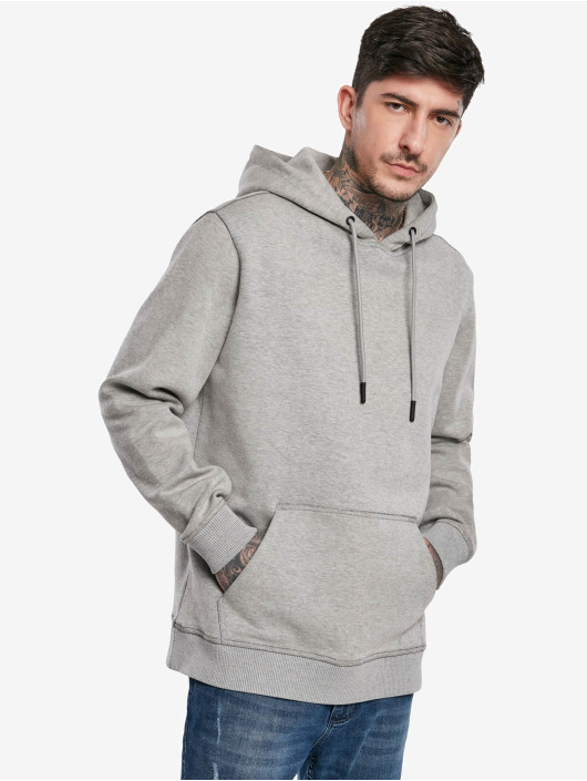 Urban Classics Hoodie Two Face gray