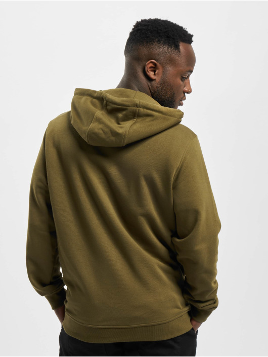Urban Classics Hoodie Basic Terry olive