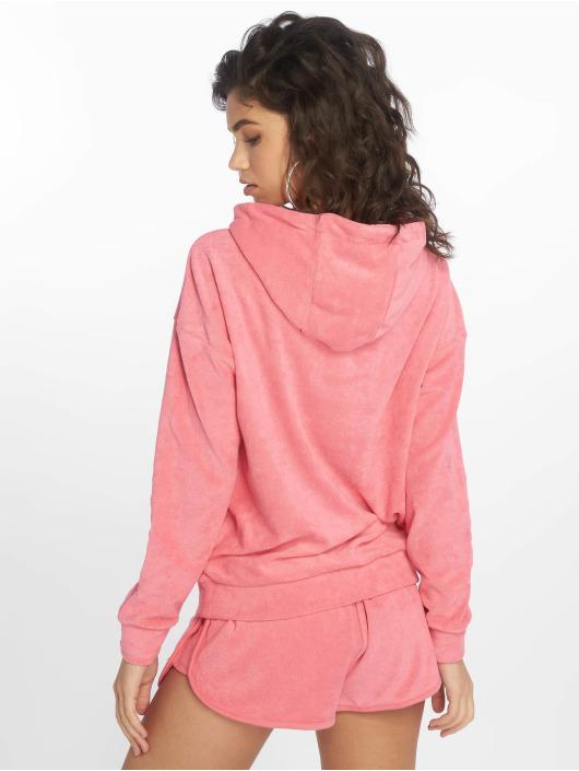 Urban Classics Hoodie Towel pink