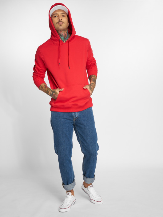 Urban Classics Hoodie Basic Sweat red