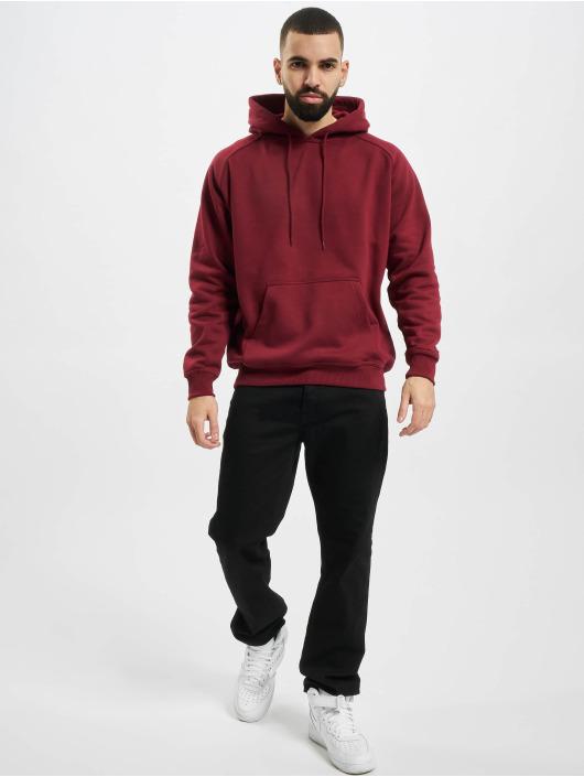 Urban Classics Hoodie Blank red