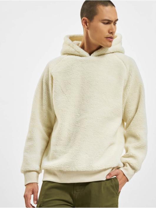 Urban Classics Hoodie Sherpa white