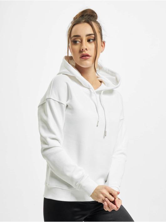 Urban Classics Hoodie Ladies Organic white