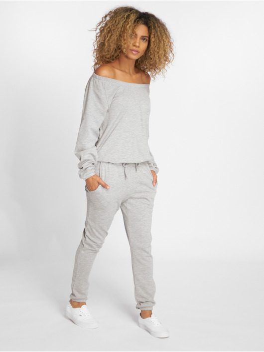 Urban Classics Jumpsuits Terry gray