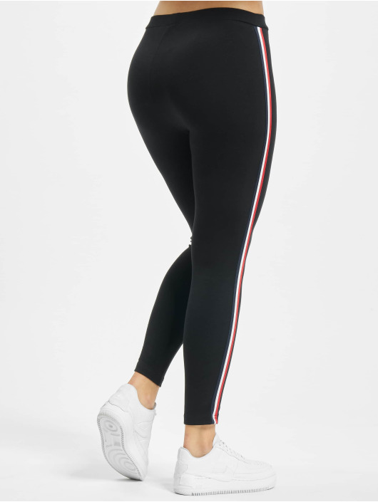 Urban Classics Leggings/Treggings 3-Tone Tape black
