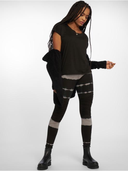 Urban Classics Leggings/Treggings Striped Tie Dye black