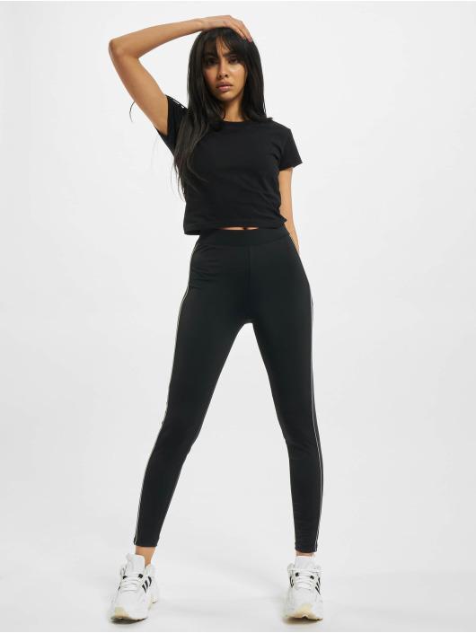 Urban Classics Leggings/Treggings Ladies High Waist Reflective black