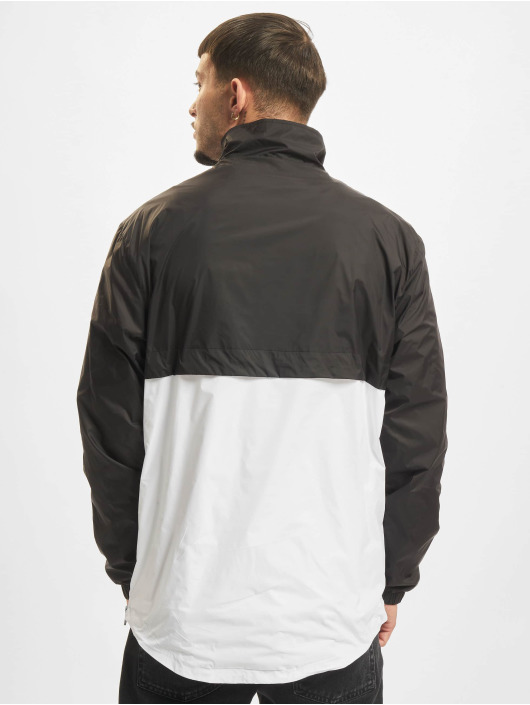 Urban Classics Lightweight Jacket Stand Up Collar Pull Over black