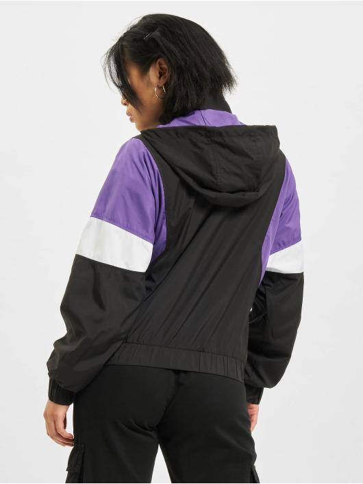 Urban Classics Lightweight Jacket Light 3-Tone Pull Over black