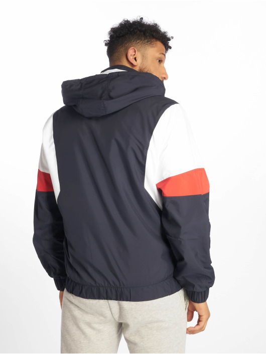 Urban Classics Lightweight Jacket Light 3-Tone Pull Over blue