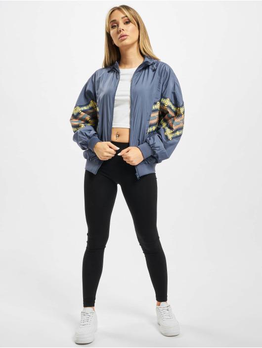 Urban Classics Lightweight Jacket Ladies Inka Batwing blue