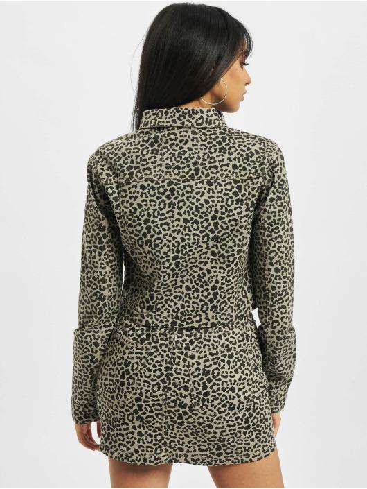 Urban Classics Lightweight Jacket Ladies Short AOP gray