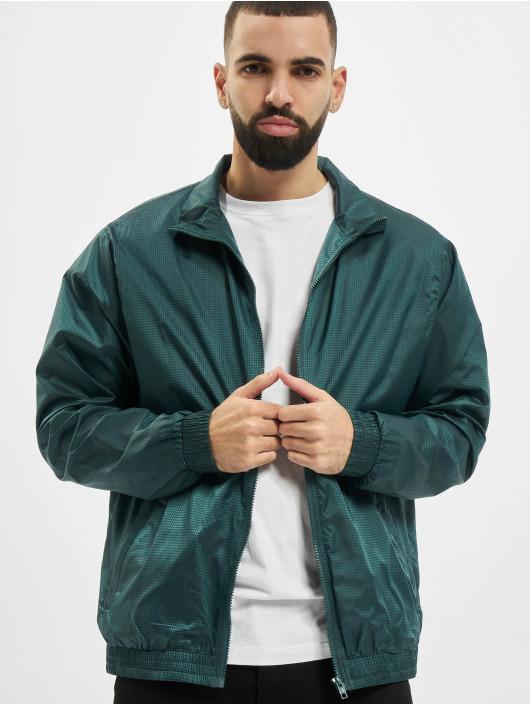 Urban Classics Lightweight Jacket Jacquard green