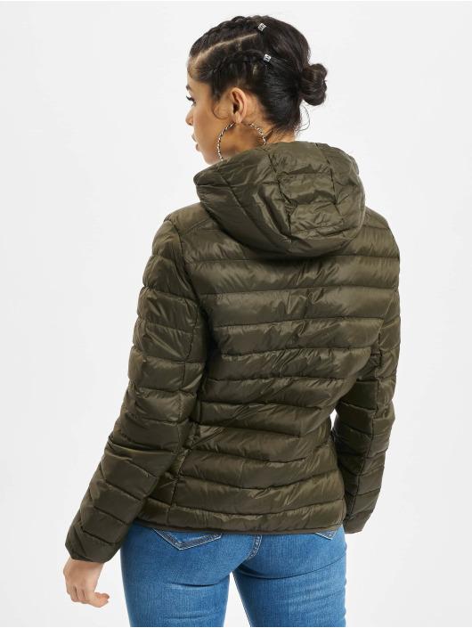 Urban Classics Lightweight Jacket Basic Hooded Down olive