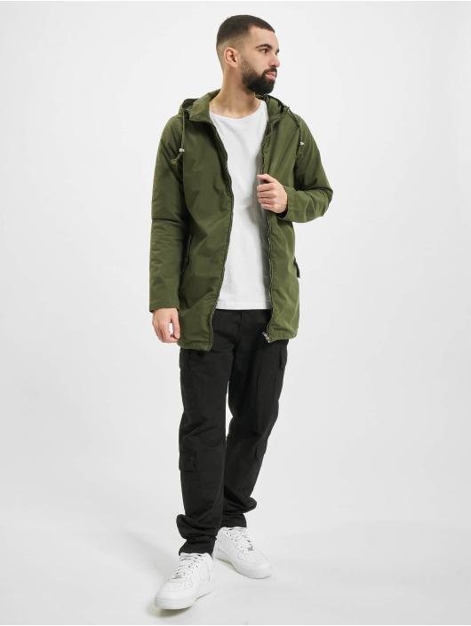Urban Classics Lightweight Jacket Light Cotton olive