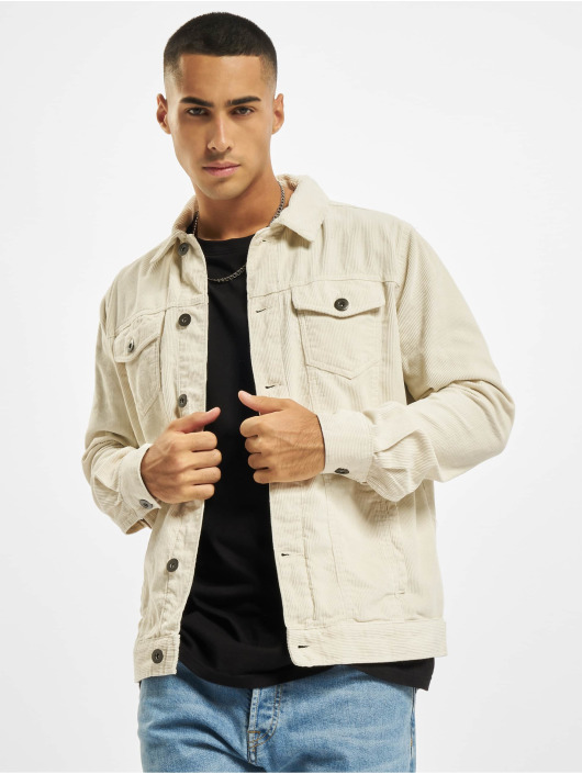 Urban Classics Lightweight Jacket Corduroy white