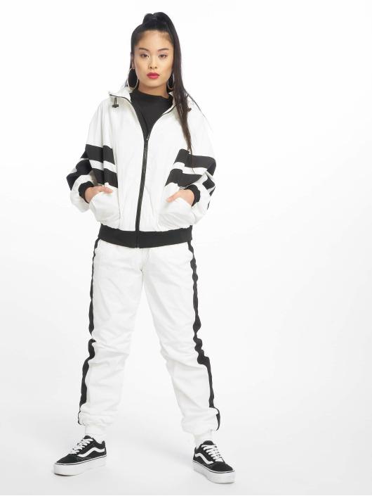 Urban Classics Lightweight Jacket Crinkle Batwing white