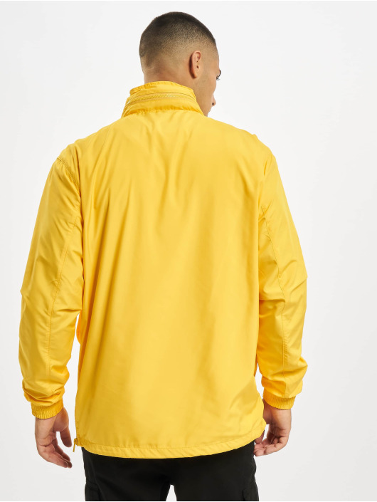 Urban Classics Lightweight Jacket Hidden Hood Pull Over yellow