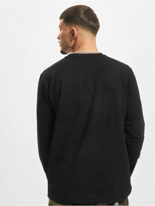 Urban Classics Longsleeve Stretch Terry black