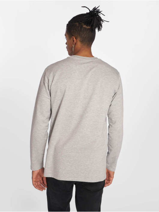 Urban Classics Longsleeve Stretch Terry gray