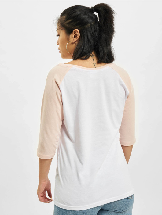 Urban Classics Longsleeve Ladies 3/4 Contrast Raglan white