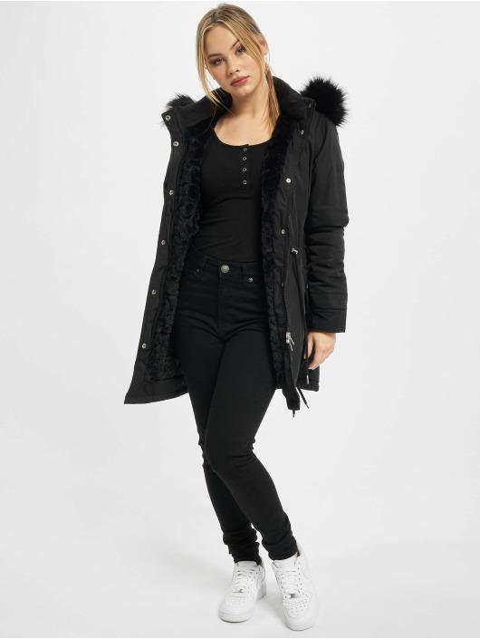 Urban Classics Parka Ladies Faux Fur black