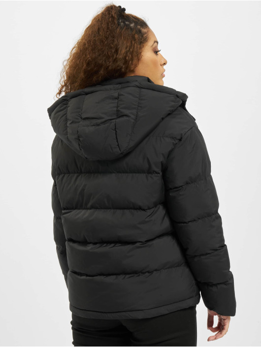 Urban Classics Puffer Jacket Hooded black
