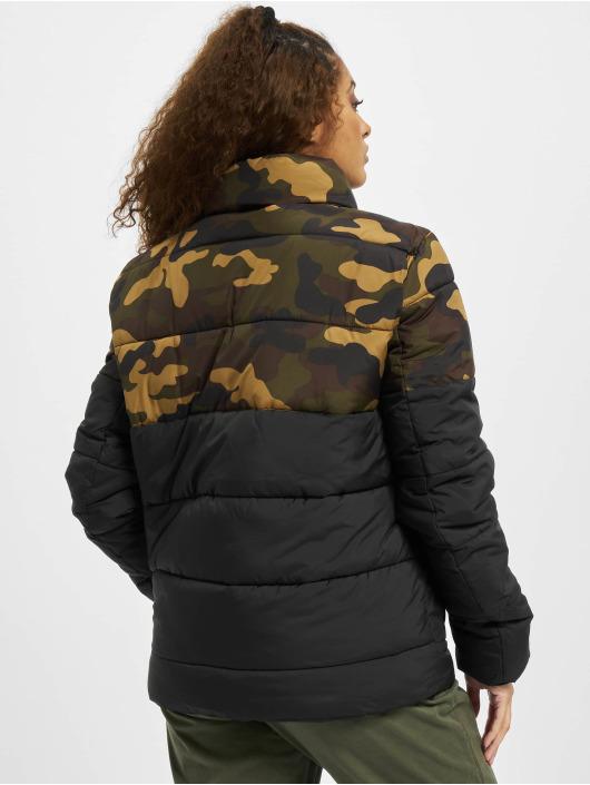 Urban Classics Puffer Jacket 2 Tone Basic camouflage