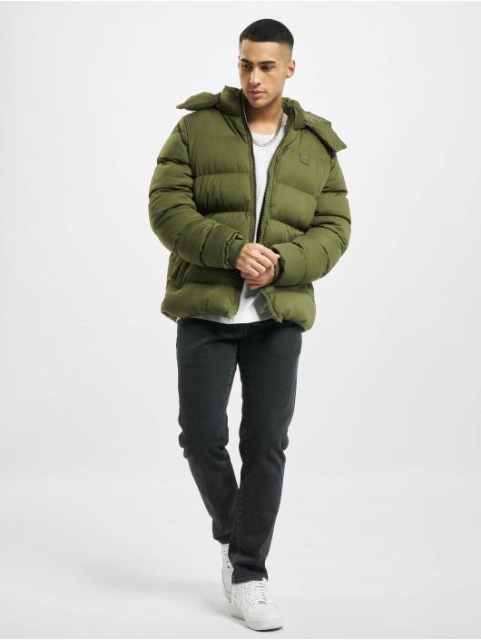 Urban Classics Puffer Jacket Hooded Boxy Puffer olive