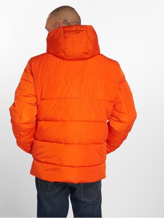 Urban Classics Puffer Jacket Hooded orange